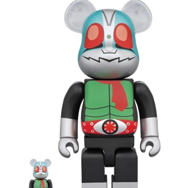 MEDICOM TOY(メディコムトイ)のBE@RBRICK 仮面ライダー新1号 100% & 400% 3個セット エンタメ/ホビーのおもちゃ/ぬいぐるみ(キャラクターグッズ)の商品写真
