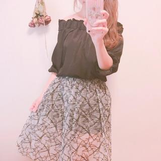 ハニーミーハニー(Honey mi Honey)の大人チュールスカート 美品(ひざ丈スカート)
