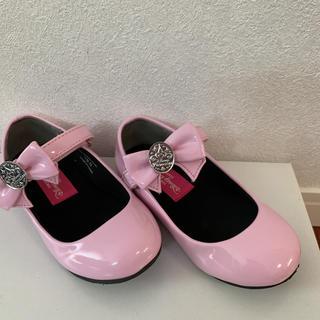 ディズニー(Disney)のディズニー ビビディバビディブティック 19cm ピンク 靴(フォーマルシューズ)