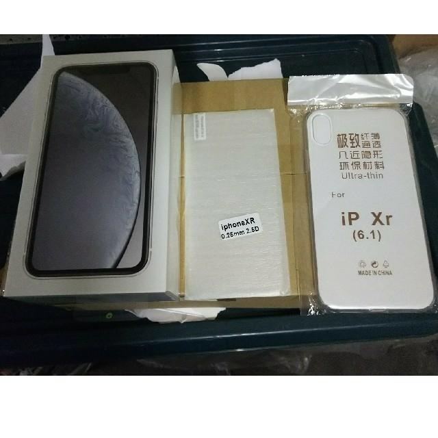 iPhone - iPhone xr 白 128G 中国版 新品未開封の通販 by ランスロット's shop|アイフォーンならラクマ