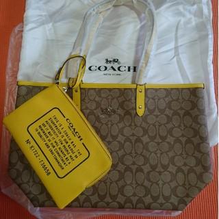 30850d93dd60 コーチ(COACH)の✨ラスト✨COACH コーチ トートバッグ Khaki/Vanilla(