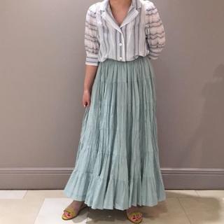 デミルクスビームス(Demi-Luxe BEAMS)のタグ付き♡草原の虹のスカート♡マリハ MARIHA(ロングスカート)