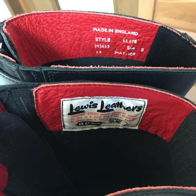 Lewis Leathers(ルイスレザー)の値下げ!ルイスレザー レーシングブーツ UK8 メンズの靴/シューズ(ブーツ)の商品写真