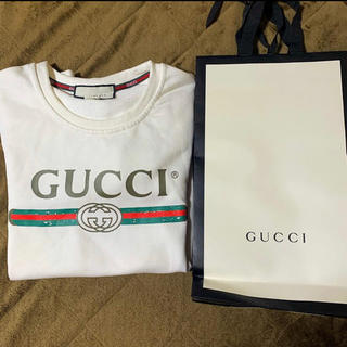 39956b00d6f7 グッチ(Gucci)のGUCCI グッチ スウェット トレーナー 長袖 早い者勝ち(スウェット)