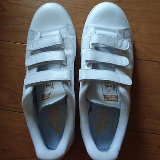 アディダス(adidas)のadidas スタンスミス ベルクロ ゴールド 29cm(スニーカー)