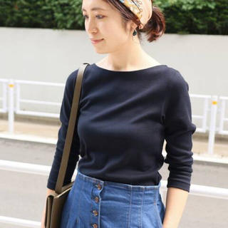 イエナ(IENA)のボートネックTシャツ(Tシャツ(長袖/七分))
