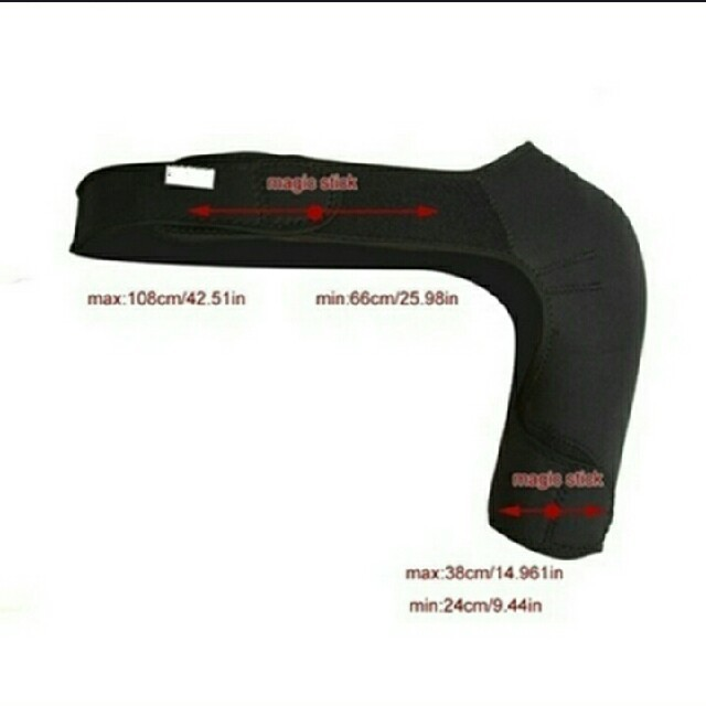 肩サポーター スポーツ/アウトドアのスノーボード(ウエア/装備)の商品写真