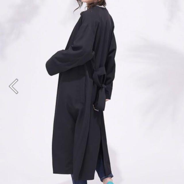 nano・universe(ナノユニバース)のnano・universeTRノーカラーベルテッドコート レディースのジャケット/アウター(トレンチコート)の商品写真