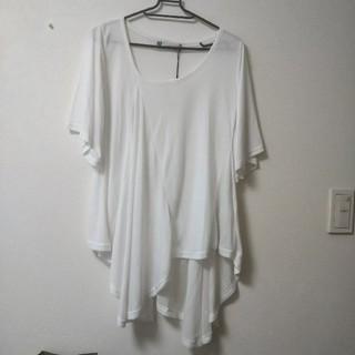 スライ(SLY)の半袖 ロングトップス(Tシャツ(半袖/袖なし))