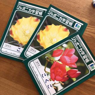 ショウワノート(ショウワノート)のこくごノート3冊(ノート/メモ帳/ふせん)