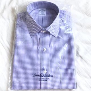 ブルックスブラザース(Brooks Brothers)の新品 ブルックスブラザーズ ドレスシャツ 15H-32/33 ノンアイロン (シャツ)
