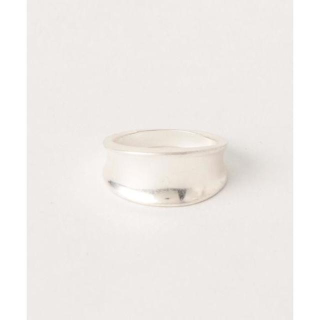 BEAUTY&YOUTH UNITED ARROWS(ビューティアンドユースユナイテッドアローズ)のメタルカーブリング メンズのアクセサリー(リング(指輪))の商品写真