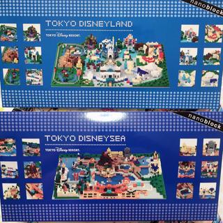 Disney - 大人気♡東京ディズニーリゾート限定 ジオラマ風 ナノブロック セット