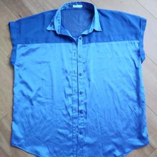 ジーユー(GU)のブラウス Lサイズ(シャツ/ブラウス(半袖/袖なし))