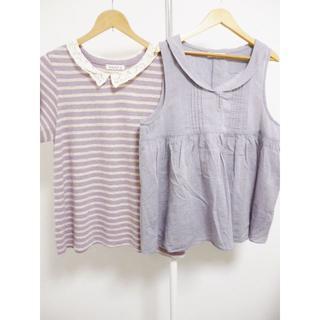 サマンサモスモス(SM2)のSM2の2点セット☆45020(Tシャツ(半袖/袖なし))