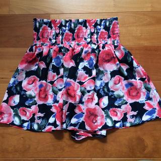 ジーユー(GU)の【新品】120 パンツ スカート  キュロット (スカート)
