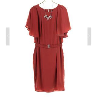 YECCA VECCA - ネックレス&ベルト付きドレス