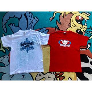 T/シャツ 二枚セット130sm (Tシャツ/カットソー)