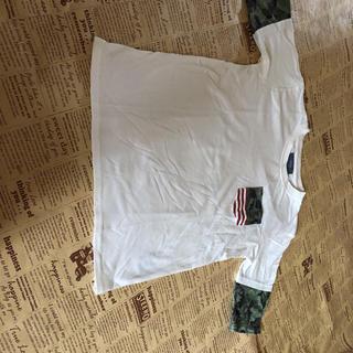 イッカ(ikka)のikka五分丈Tシャツ 150cm(Tシャツ/カットソー)