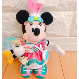 ミニーマウス - 東京ディズニーランドイースターミニーうさたまぬいぐるみバッジ