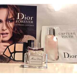 クリスチャンディオール(Christian Dior)のdior ミスディオール ブルーミングブーケ ミニボトル (香水(女性用))
