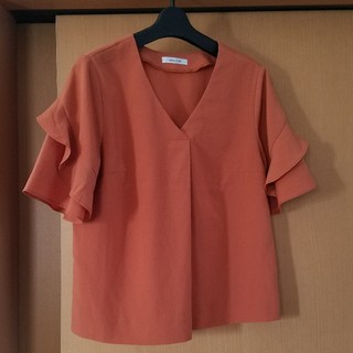 オペーク(OPAQUE)のとろみ素材 半袖 ブラウス 専用(シャツ/ブラウス(半袖/袖なし))
