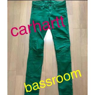 カーハート(carhartt)のcarhartt  bassroom カラーパンツ(デニム/ジーンズ)