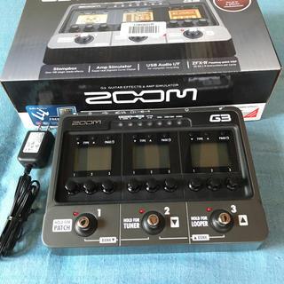 ズーム(Zoom)のzoom G3 ver2 エフェクター&amp simulator(エフェクター)