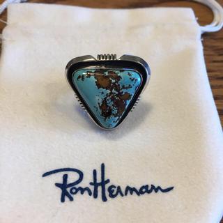 ロンハーマン(Ron Herman)の新品未使用 Ron herman購入 トライアングルターコイズリング HARPO(リング(指輪))