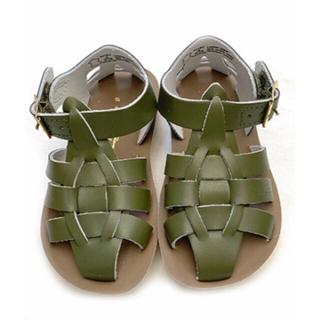 こども ビームス - Salt Water Sandals ソルトウォーター Shark olive