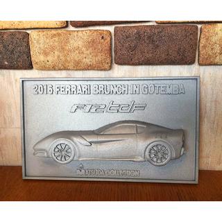 フェラーリ(Ferrari)のFerrari F12 tdf 記念プレート(その他)