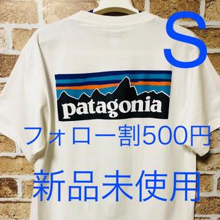パタゴニア(patagonia)の【大好評】パタゴニア Tシャツ ロンT ロンティ スウェット 白色 ユニセックス(Tシャツ/カットソー(半袖/袖なし))