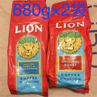 ライオン(LION)のライオンコーヒー 2袋セット(コーヒー)