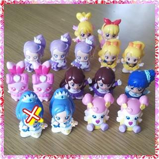 バンダイ(BANDAI)のプリキュア ミニ人形セット(ぬいぐるみ/人形)