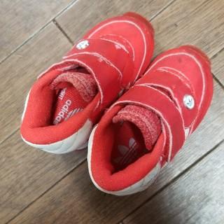 アディダス(adidas)のadidasハイカットスニーカー 12センチ (スニーカー)