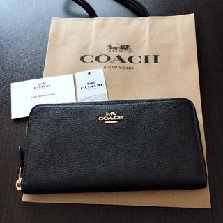 44635ae6d6ae 4ページ目 - コーチ(COACH) レザー 財布(レディース)(ゴールド/金色系 ...