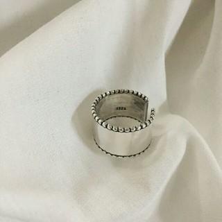 アメリヴィンテージ(Ameri VINTAGE)のインポート silver 925 vintage ring(リング(指輪))