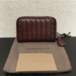 ボッテガヴェネタ(Bottega Veneta)のボッテガヴェネタ コインケース ボルドー イントレチャート(コインケース)
