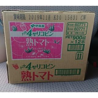 伊藤園 - 伊藤園 熟トマト 12本 1箱 トマトジュース
