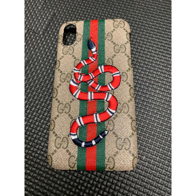 スマホ カバー ブランド | Gucci - 新品未使用  即発送 iPhoneX XSケースの通販 by ria's shop|グッチならラクマ