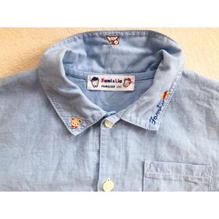 ファミリア(familiar)のfamiliarシャツ 100 美品(ブラウス)