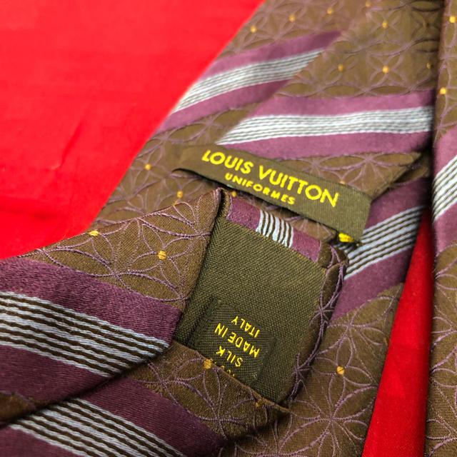 LOUIS VUITTON(ルイヴィトン)のLV ルイヴィトン ネクタイ 正規品 メンズのファッション小物(ネクタイ)の商品写真