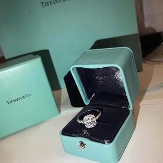 ティファニー(Tiffany & Co.)の极美品 Tiffany & Co 指輪(リング(指輪))