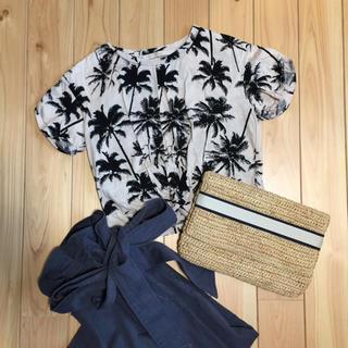チャオパニック(Ciaopanic)のヤシの木柄Tシャツ(Tシャツ(半袖/袖なし))