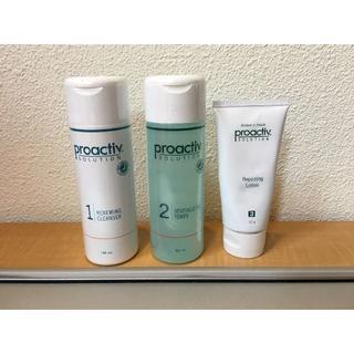 proactiv - プロアクティブ 3ステップセット(洗顔料・化粧水120ml・ローション)