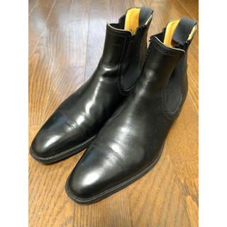シップス(SHIPS)のSHIPS サイドゴアブーツ(UK6.5)(ブーツ)