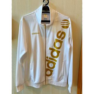 アディダス(adidas)のadidas    NEO   上着   ホワイト×ゴールド(ジャージ)