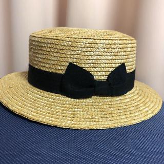 イング(INGNI)のカンカン帽(麦わら帽子/ストローハット)