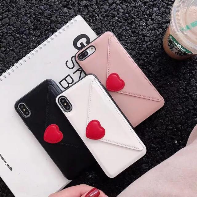 ハート♡レター型  ☆新品☆  iPhoneケース  ☆  78/X.XS/XRの通販 by matsuhana's shop  |ラクマ