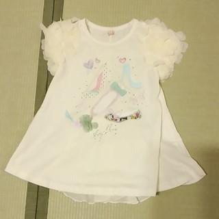 シマムラ(しまむら)のTシャツ 110センチ 白(Tシャツ/カットソー)